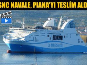 Navale yeni Ro-Pax gemisini teslim aldı