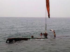 Batık Osmanlı gemisi su yüzüne çıkarıldı