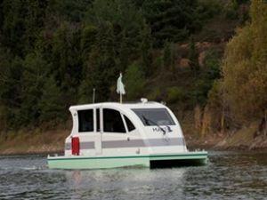 Türkiye'nin ilk hidrojenli teknesi 'Martı'