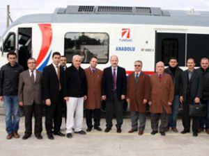Dizel Tren Seti, TCDD'ye teslim edildi