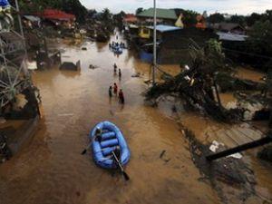 Filipinler'de fırtınanın bilançosu ağır oldu