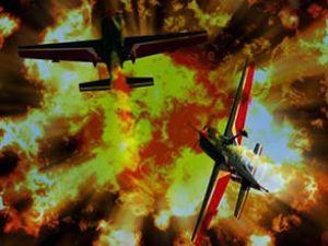 İngiltere'de 2 küçük uçak havada çarpıştı