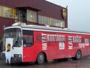 UPS'ten Kızılay'a kan bağışı seferberliği