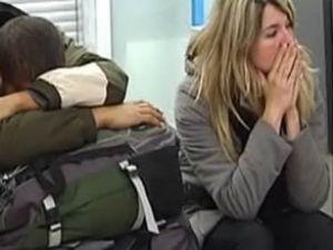 Fransa'da Noel yolcularının çilesi bitmiyor