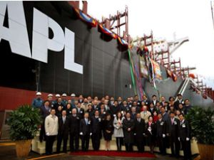 APL Chongqing, Colombo Limanı'na geldi
