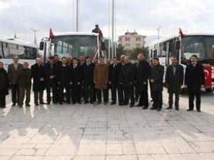 Erzincan'a 5 adet Sultan Maxi City otobüs