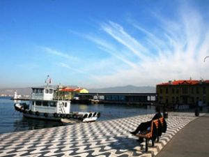 İzmir'de ilk marina Pasaport'a yapılacak