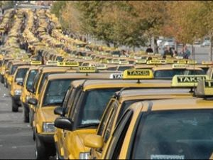 Usulsüz çalışan ticari taksicilere ceza yağdı