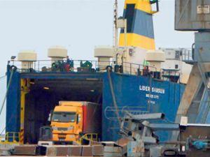 Samsun Limanı'nda sevkiyat trafiği arttı