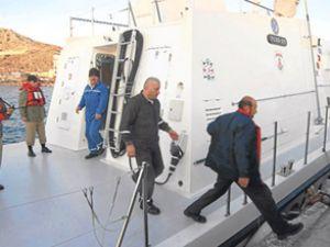 Batan geminin kaptanları serbest bırakıldı