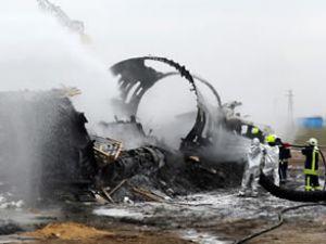Esenboğa Havalimanı'nda yangın tatbikatı