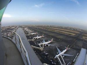 Dubai havaalanı 46 milyon yolcu ağırladı