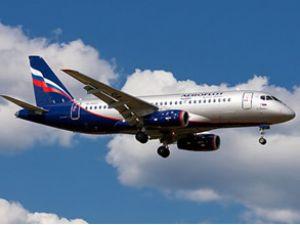 Aeroflot ''SSJ100'' uçağının faaliyete soktu
