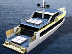 Solar yat Zero 80 konsepti görücüye çıktı