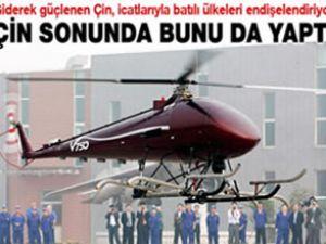 Çin, ilk insansız helikopterini test etti
