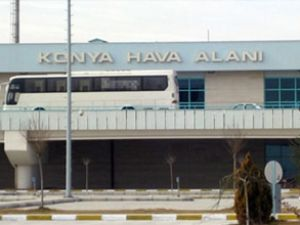 Konya Havaalanı 24 saat hizmet verecek