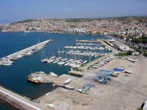 Ayvalık Limanı'nda turist sayısı 50 bini aştı