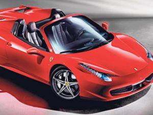 540 bin Euro'luk Ferrari Türkiye'ye geldi