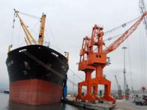 Samsunport'ta 2,5 milyon ton yük taşındı
