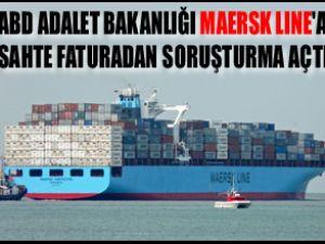 ABD, Maersk Line'a soruşturma açtı