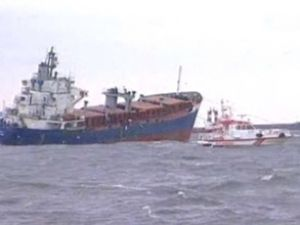 """""""Kayan 1"""" gemisi 2 gemiyle birden çatıştı!"""