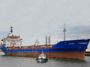 Edirne tankeri personeli Türkiye'ye geldi