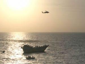 ABD Donanması'ndan İranlılara yardım
