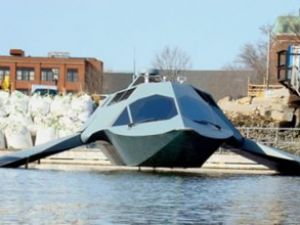 Hayalet uçak teknolojisi denizde