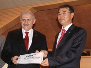 Yıldırım: Kore ile ezeli işbirliğimiz sürecek