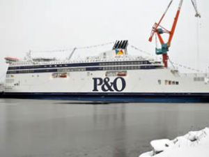 P&O Ferries, Spirit of France'ı teslim aldı