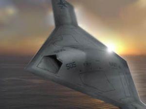 UFO gibi hayalet uçak