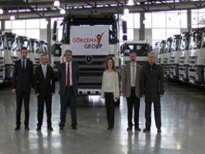 Gökçenay Group'un tercihi yine Mercedes