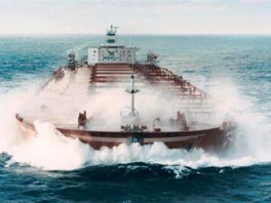 'En büyük gemi' ilk uzun yolculuğunu yaptı