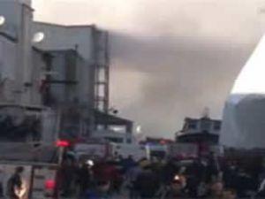 Tuzla Nuh Sanayi Sitesinde patlama
