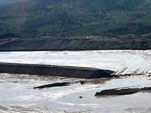 İvanovo Barajı çöktü, köyler su altında