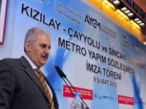 Ankara, metrosu Bakanlığa emanet edildi