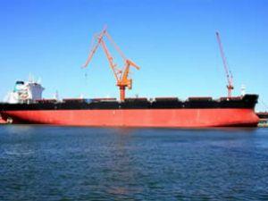 """FLAG MERSINIDI' gemisi teslim edildi"
