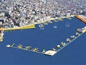 İZTO Pasaport'taki yat limanına da talip