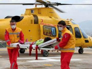 Gece görüşlü ambulans helikopterler geliyor