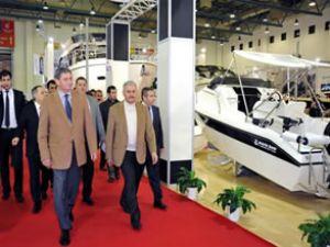 Binali Yıldırım'dan Boat Show ziyareti