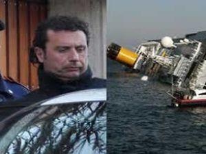 Costa'nın kaptanının saçında kokain bulundu