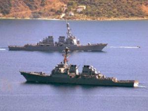 İran savaş gemileri Suriye'den ayrıldı