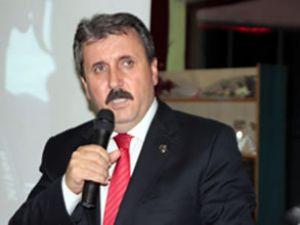 Mustafa Destici: Artık sonuna yaklaştık
