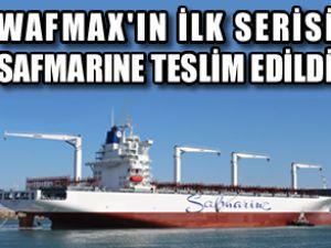 Safmarine, Wafmax'ın ilkini teslim aldı