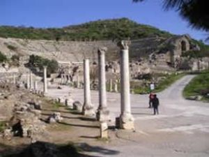 Efes Antik Kenti denizle buluşacak