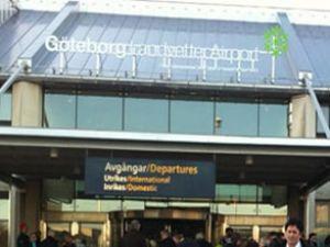 Göteborg Havaalanı'nda bomba paniği