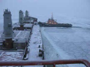 Odesa limanındaki buz engeli kalkıyor