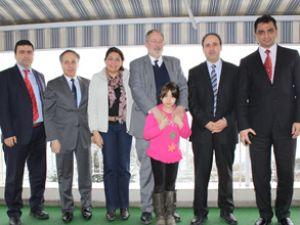 Kjerfve'den Liman Başkanlığı'na ziyaret