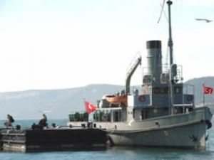 Nusret Mayın Gemisi Çanakkale'de