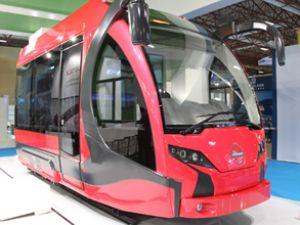 İlk yerli tramvay Eurasia Rail Fuarı'nda